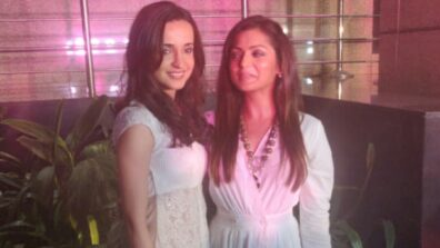 BFFs Sanaya Irani and Drashti Dhami spotted together
