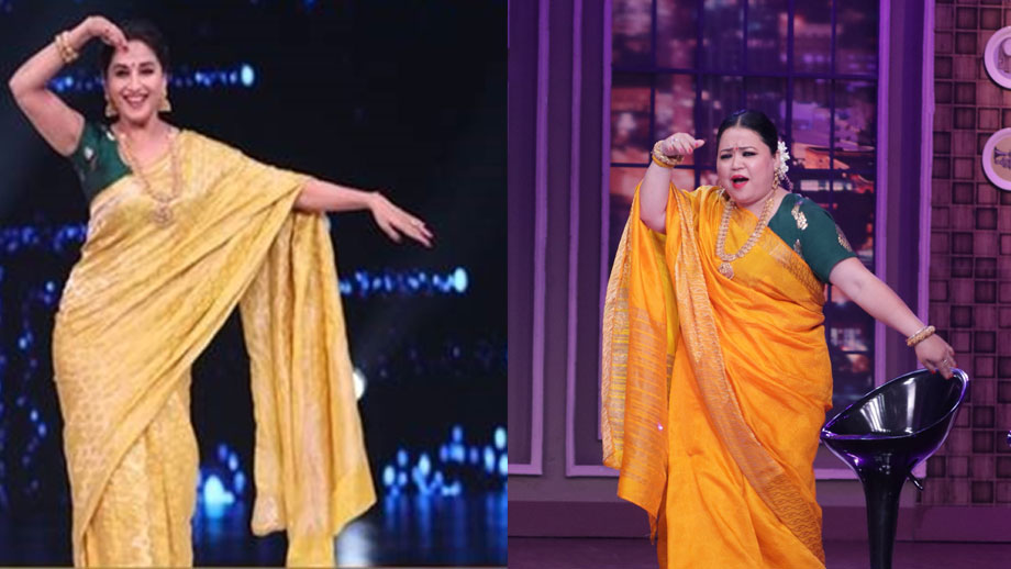 Bharti Bani Madhuri on COLORS'  Khatra Khatra Khatra