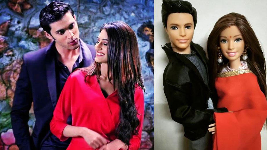 Check out Erica Fernandes and Parth Samthaan aka Anurag and Prerna's look-alike doll