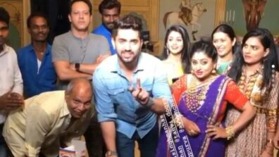 Ek Bhram Sarvagun Sampanna: Zain Imam's pre-birthday celebration on set