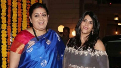 #Election2019Results: Ekta Kapoor rooting for Smriti Irani to win in Amethi