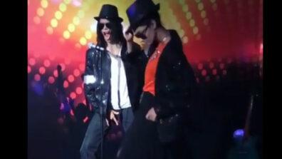 Erica Fernandes in Michael Jackson avatar