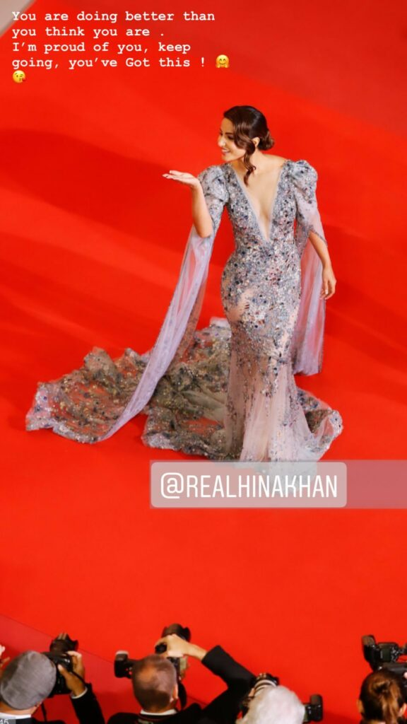 Erica Fernandes was all praises for Hina Khan's Cannes 2019 Red Carpet Debut