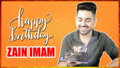 Exclusive: Zain Imam celebrates birthday with IWMBuzz 1
