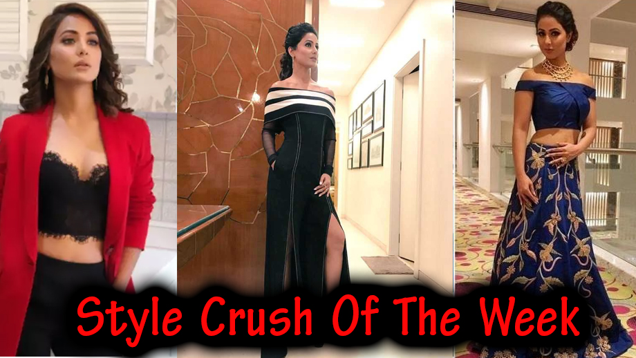 Hina Khan is our style crush of the week! 2
