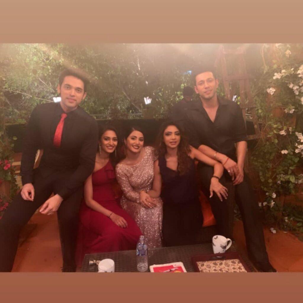 Hina Khan's farewell on the sets of Kasautii Zindagii Kay 4