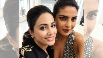Hina Khan's heartfelt message for Priyanka Chopra at Cannes 2019