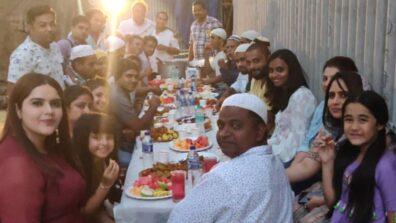 Kulfi Kumar Bajewala: Mohit Malik, Myra Singh, Aakriti Sharma celebrate Iftar on set