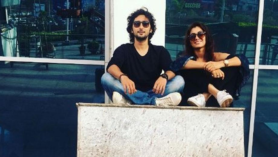 Kunal Karan Kapoor and Sriti Jha's cute moments 4