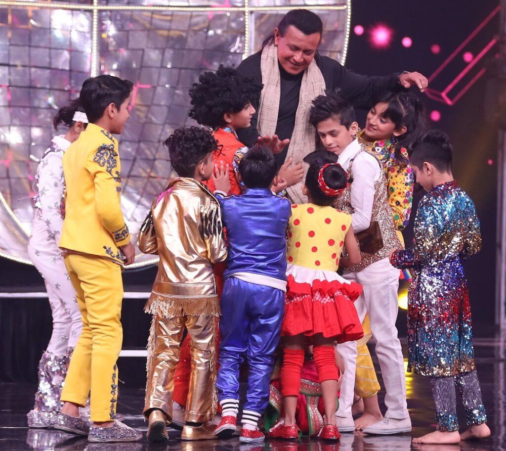 Mithun Chakraborty on Super Dancer Chapter 3 14