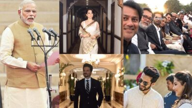 #ModiSwearingIn: Rajinikanth, Shahid Kapoor, Karan Johar, Kangana Ranaut and other celebrities at Narendra Modi swearing in ceremony