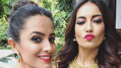Naagin 3 actresses  Anita Hassanandani and Surbhi Jyoti enjoy a date at a nail spa