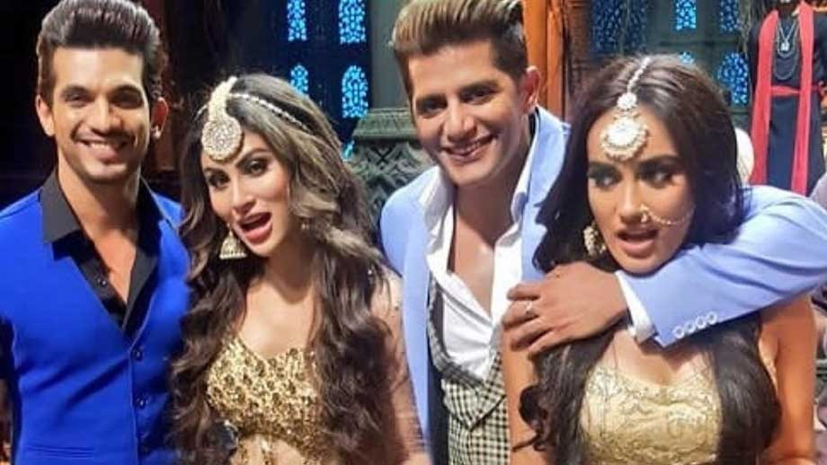 Naagin 3: Karanvir Bohra, Mouni Roy and Arjun Bijlani reunite