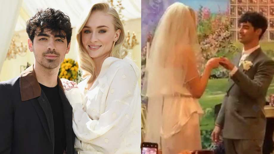 Priyanka Chopra's brother-in-law Joe Jonas marries Game of Thrones star Sophie Turner