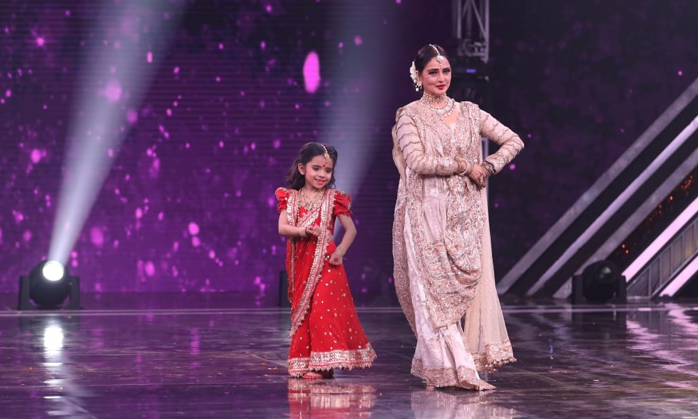 Rekha on Super Dancer Chapter 3 5