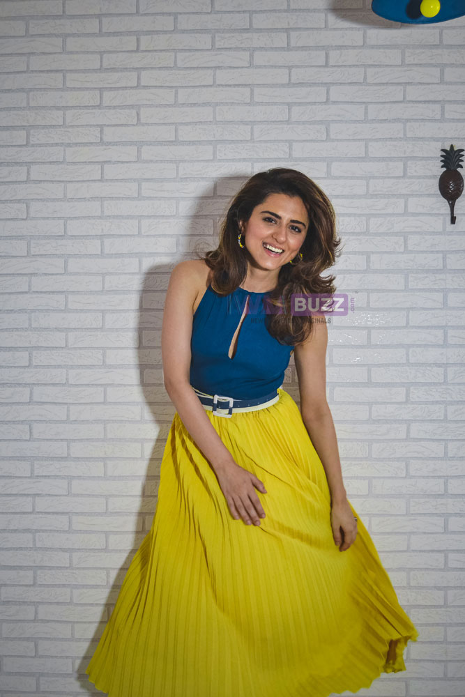 Ridhi Dogra poses after a fun LIVE chat with IWMBuzz 1