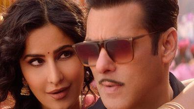 Salman Khan and Katrina Kaif on Super Dancer