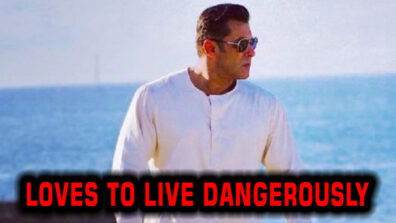 Salman Khan: The Superstar Who Loves To Live Dangerously 1