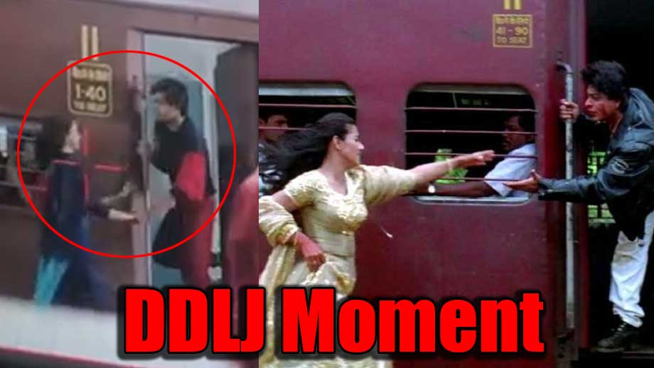 Yeh Un Dinon Ki Baat Hai: Sameer and Naina's DDLJ train moment