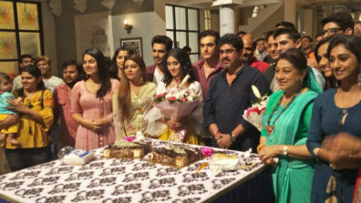 Shivangi Joshi's birthday celebration on the sets