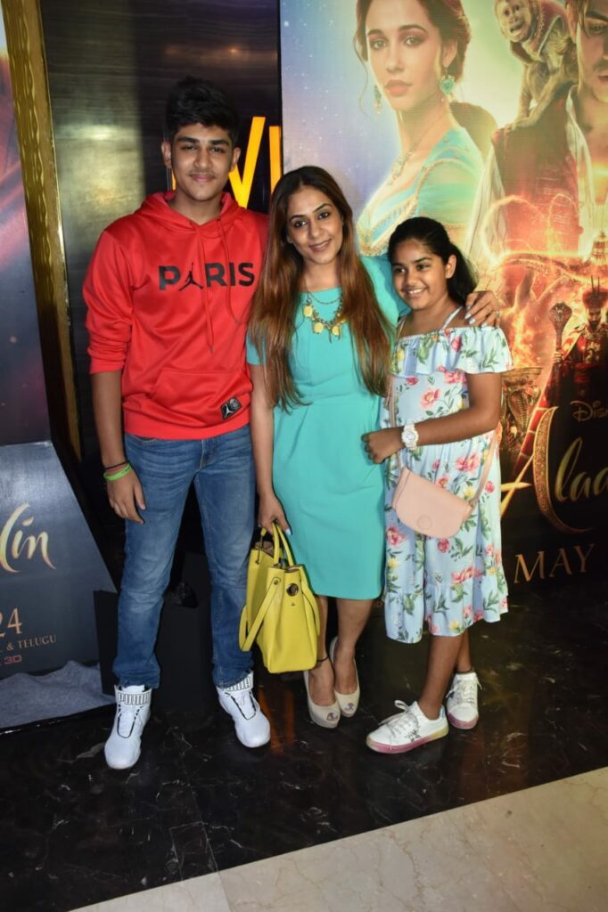 Special screening of Aladdin 8