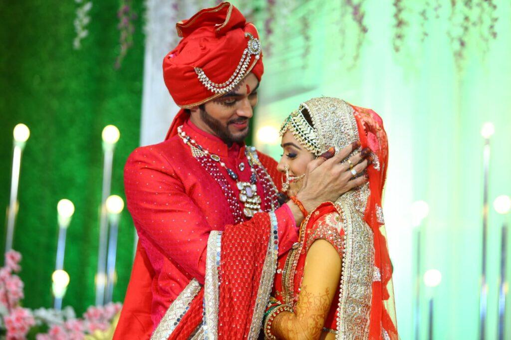 TV actors Ashish Dixit and Shweta Kanoje's dreamy wedding 23