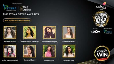 Vote Now: Who has the Most Stylish Hair (Real)? Chetna Pande, Jannat Zubair Rahmani, Krishna Mukherjee, Surbhi Chandna, Anita Hassanandani, Shivangi Joshi, Avneet Kaur, Ashnoor Kaur 1
