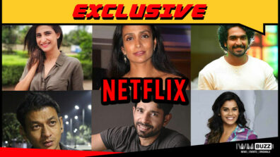 Aahana, Suchitra, Siddharth, Manjiri, Vineet and Krishna Bisht in Netflix Original series Betaal 1