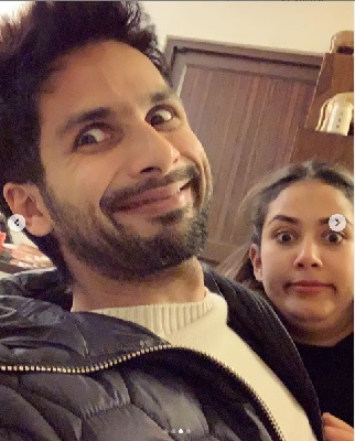 All the cute moments of Shahid Kapoor and Mira Rajput 3