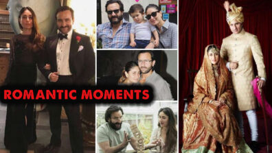 All the romantic moments of Kareena Kapoor Khan and Saif Ali Khan