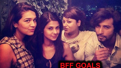 All the times the Bepannaah actress Jennifer Winget gave us BFF goals with her squad pics 3