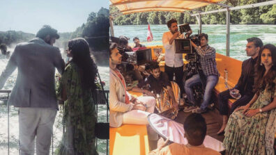 Check out behind the scenes pics and videos of Kasautii Zindagii Kay Switzerland shoot