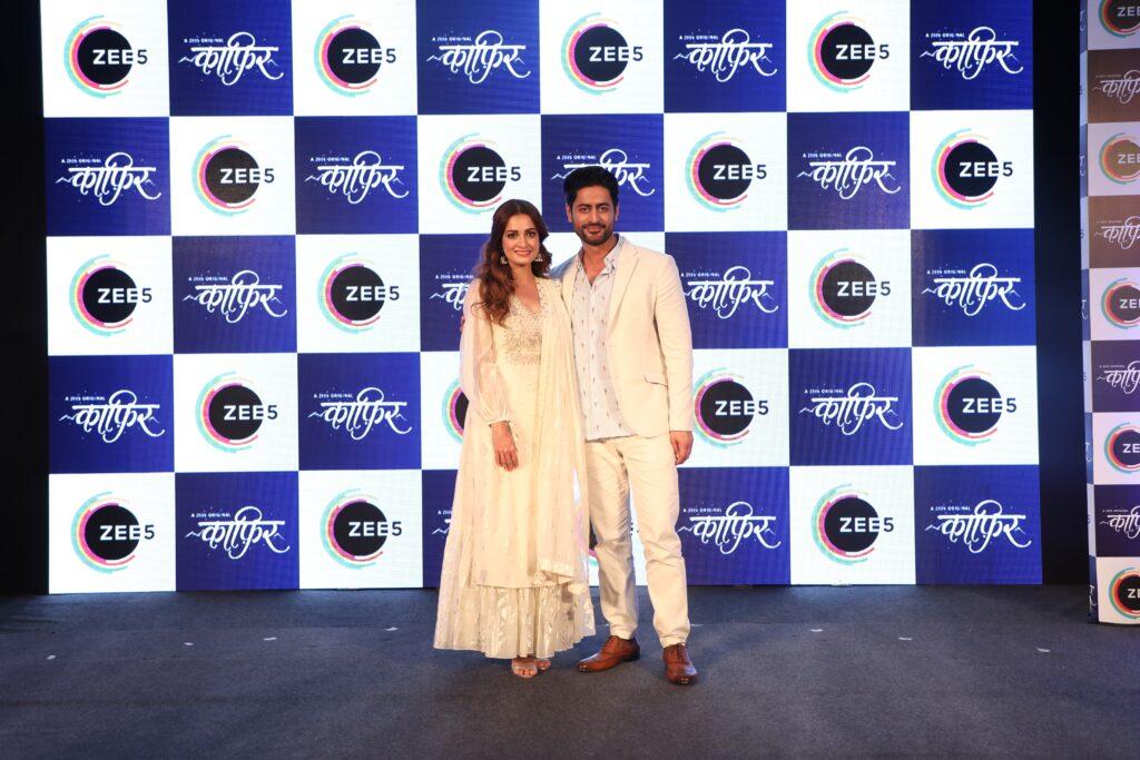 Dia Mirza and Mohit Raina at the launch of ZEE5 Original Kaafir 2