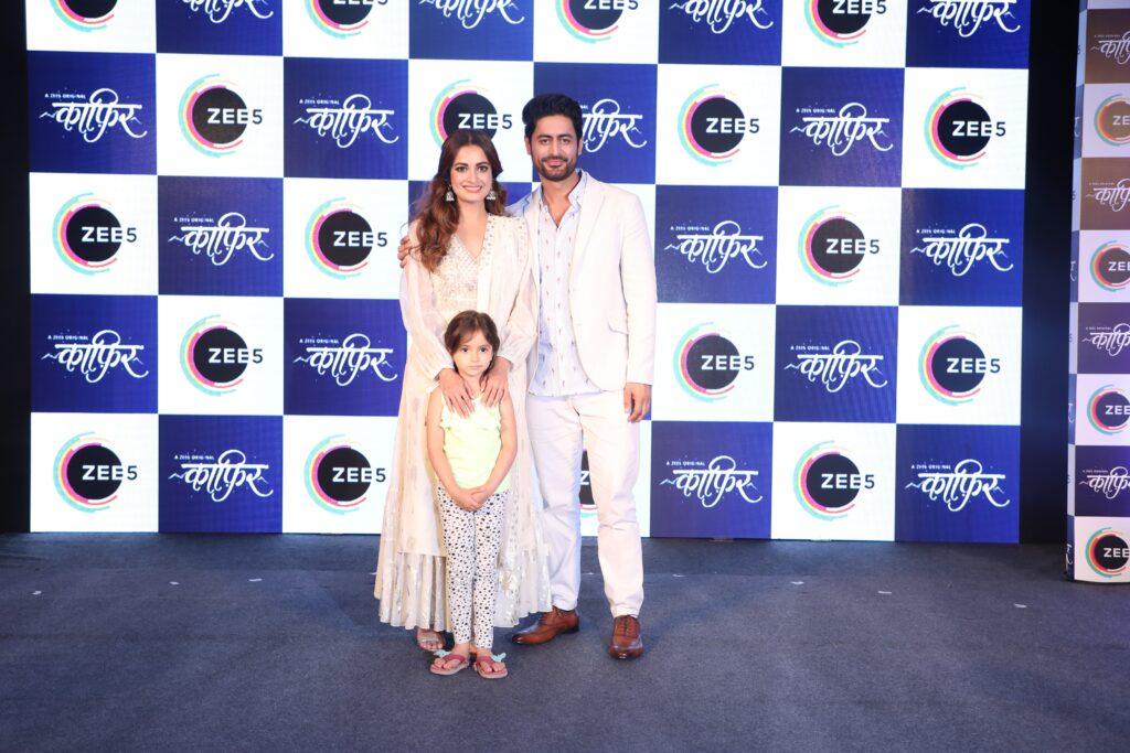 Dia Mirza and Mohit Raina at the launch of ZEE5 Original Kaafir 3
