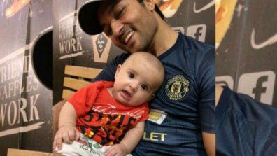 Diya Aur Baati Hum fame Anas Rashid shares a cute picture with his little baby