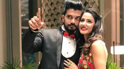 Hina Khan and Rocky Jaiswal are the rocking couple in town