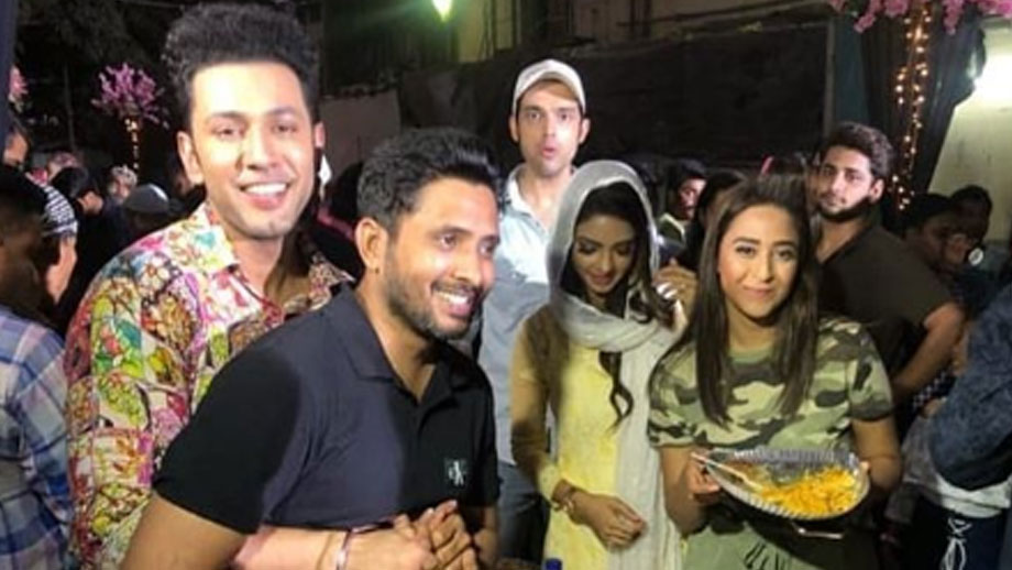 Iftar party on Kasautii Zindagi Kay sets