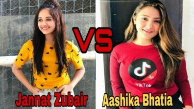 Jannat Zubair And Aashika Bhatia: Who Slays The Tiktok Game?