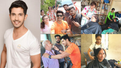 Kanwar Dhillon spreads smile at an old age home