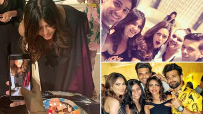 Karan Johar, Siddharth Malhotra, Karishma Tanna, Karan Kundra party hard at Ekta Kapoor's Birthday Party