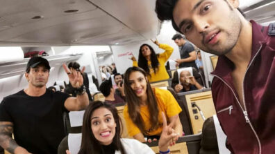 Kasautii Zindagii Kay actors Parth Samthaan, Erica Fernandes and Karan Singh Grover leave for Switzerland 5