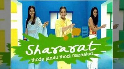 Popular TV show Shararat back to entertain fans