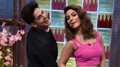 Priyank Sharma and Hina Khan is the new hot best friends Jodi in the telly world