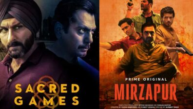 Sacred Games vs Mirzapur: Classic crime story