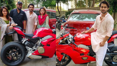 Shoaib Ibrahim is proud owner of a Ducati bike