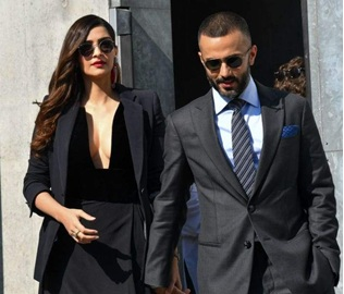 Sonam Kapoor and Anand Ahuja are major couple goals