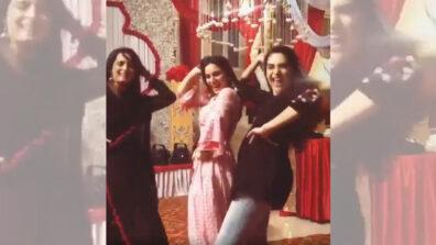 Super cool dance video of Kundali Bhagya girls Shraddha Arya, Ruhi Chaturvedi and Anjum Fakih