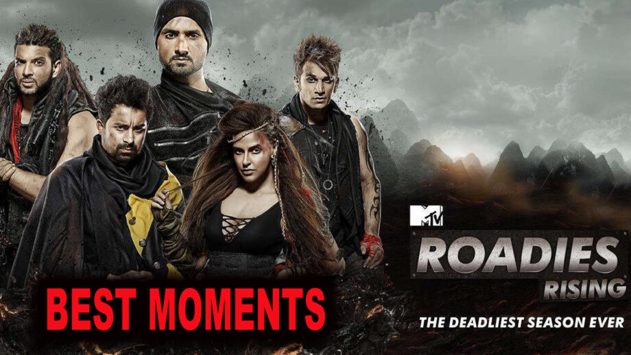The best moments of MTV Roadies