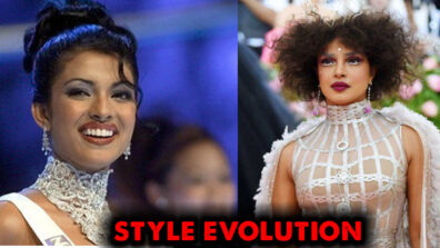 Then vs Now: Priyanka Chopra's style evolution