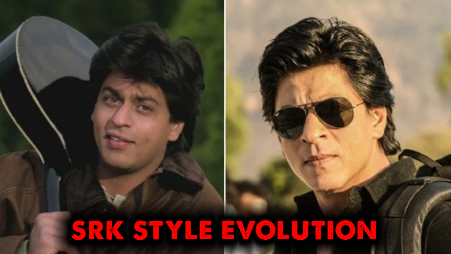 Then vs Now- Shah Rukh Khan Style Evolution